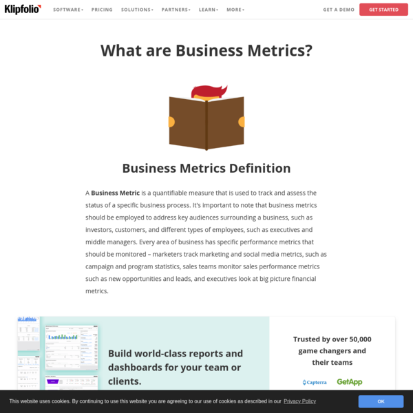 What are Business Metrics? Definition and 25 Examples