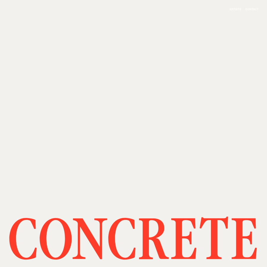 Concrete Rep. LTD is a UK based agency representing artists working in the fashion, editorial and advertising sectors