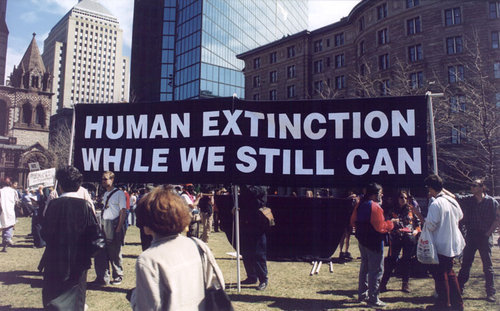 Human extinction while we still can