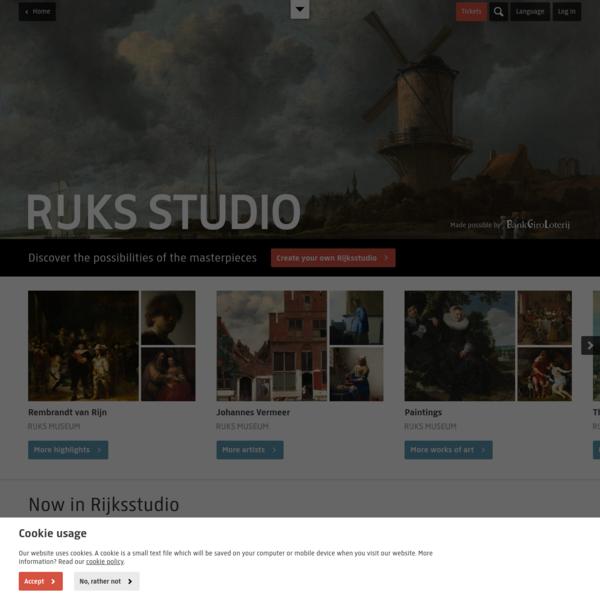 Rijksstudio - Rijksmuseum