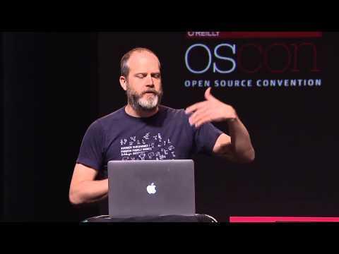 """Andrew Sorensen Keynote: """"The Concert Programmer"""" - OSCON 2014"""