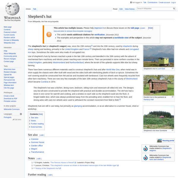 Shepherd's hut - Wikipedia