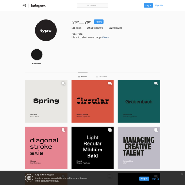 29.1k Followers, 132 Following, 185 Posts - See Instagram photos and videos from Type Type (@type__type)