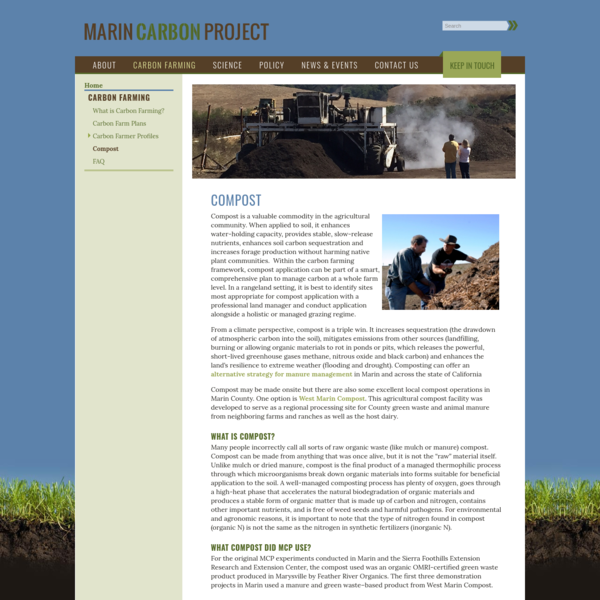 Marin Carbon Project