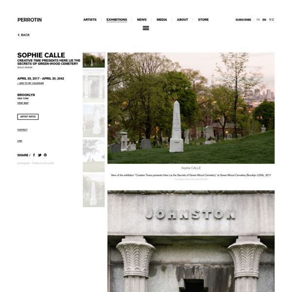 Creative Time presents Here Lie the Secrets of Green-Wood Cemetery | PERROTIN