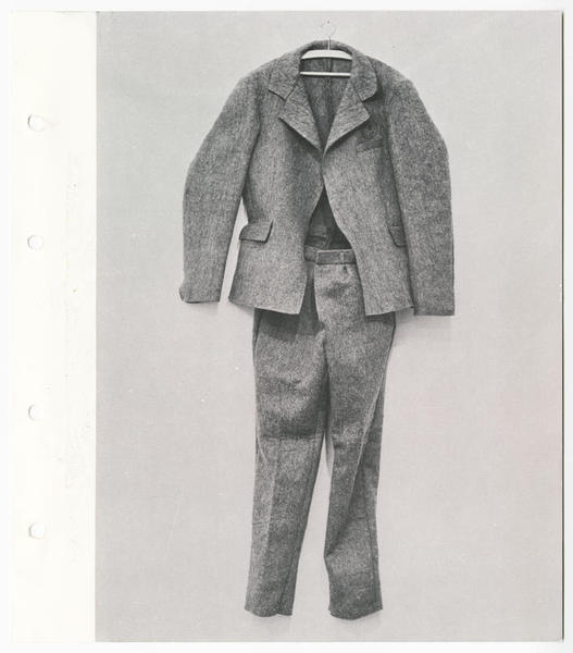 Joseph Beuys - Felt Suit