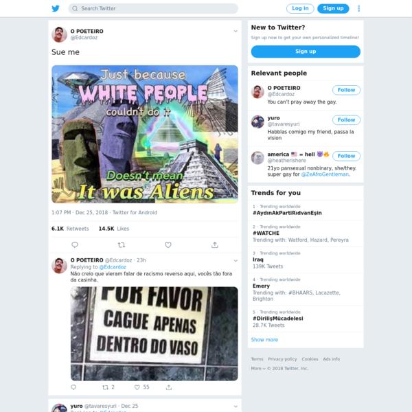 O POETEIRO on Twitter