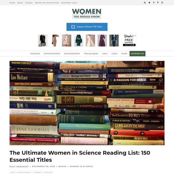 The Ultimate Women in Science Reading List: 150 Essential Titles!