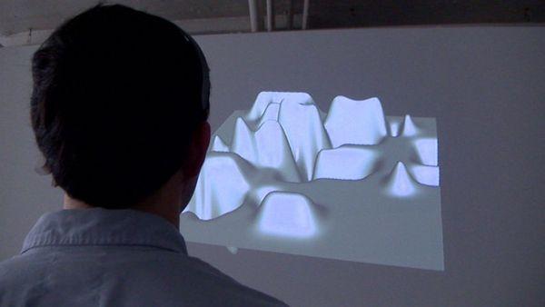 Video: Mind-Bending Artist Turns Brainwaves Into Artwork