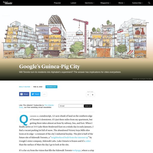 Google's Guinea-Pig City