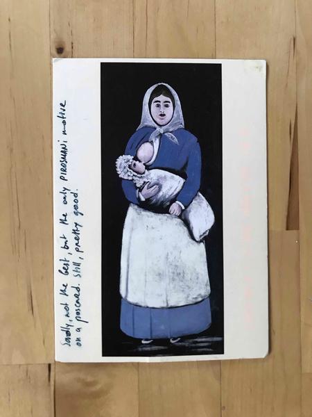 pirosmani postcard