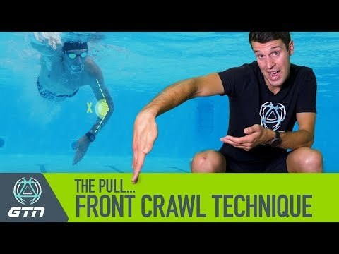 The pull phase of the front crawl stroke is the propulsive phase - when the hand and arm are pulling against the water. Get this part of the stroke right, and you can considerably transform your technique; making it both easier and quicker.