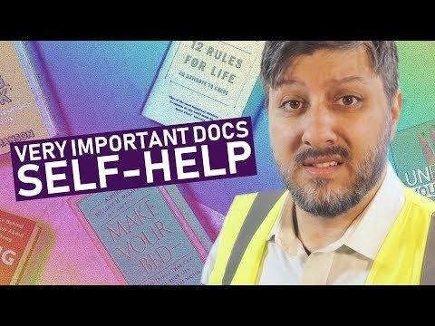 Self-Help │█║▌ 𝚅𝙴𝚁𝚈 𝙸𝙼𝙿𝙾𝚁𝚃𝙰𝙽𝚃 𝙳𝙾𝙲𝚂¹⁸