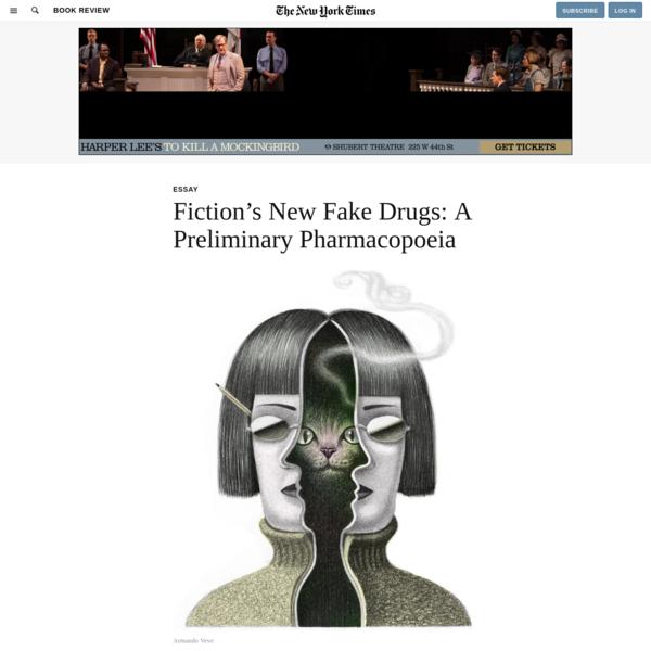 Fiction's New Fake Drugs: A Preliminary Pharmacopoeia
