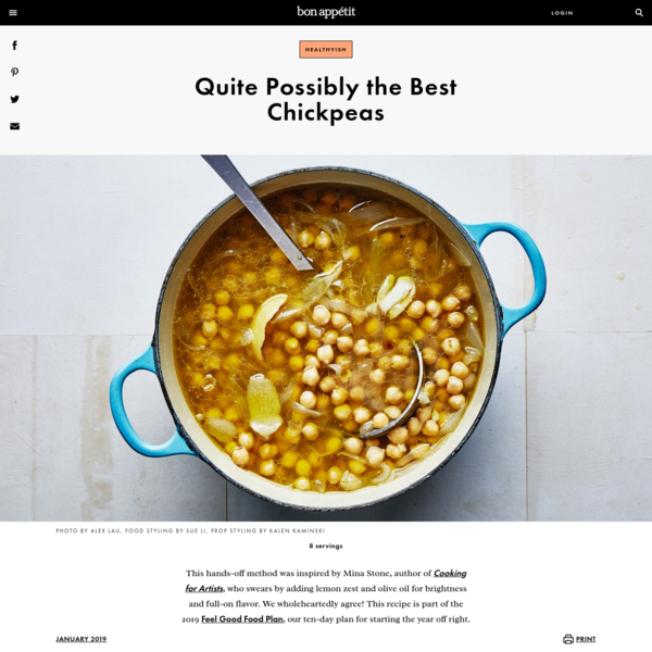 Quite Possibly the Best Chickpeas Recipe