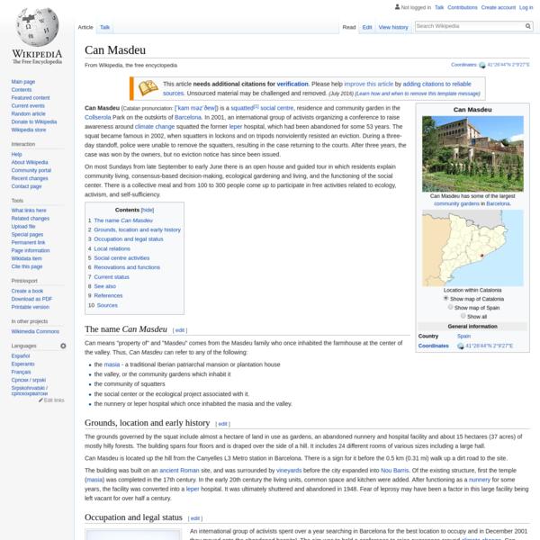 Can Masdeu - Wikipedia