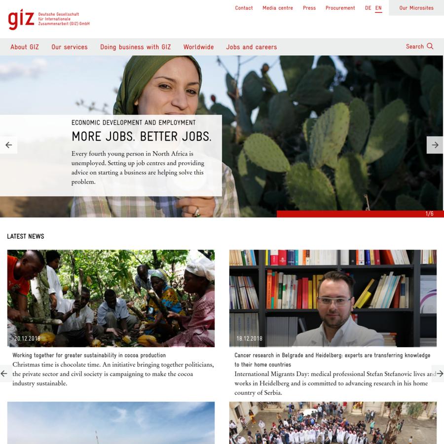 Die GIZ bündelt die Kompetenzen und langjährigen Erfahrungen des DED, der GTZ und der Inwent.