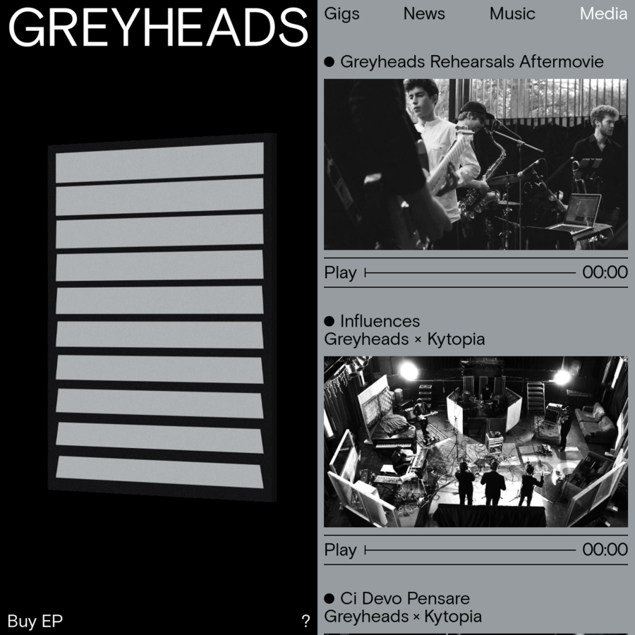Multi-dimensional electronic and hip hop sounds come together with overwhelming R&B and jazz grooves in the 7 pieces band Greyheads, based in Rotterdam, Netherlands.