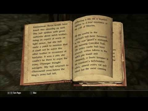 Let's Read The Rear Guard (Let's Read The Books of Skyrim, Book 268)