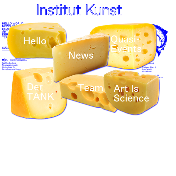 Institut Kunst / Art Institute / FHNW HGK