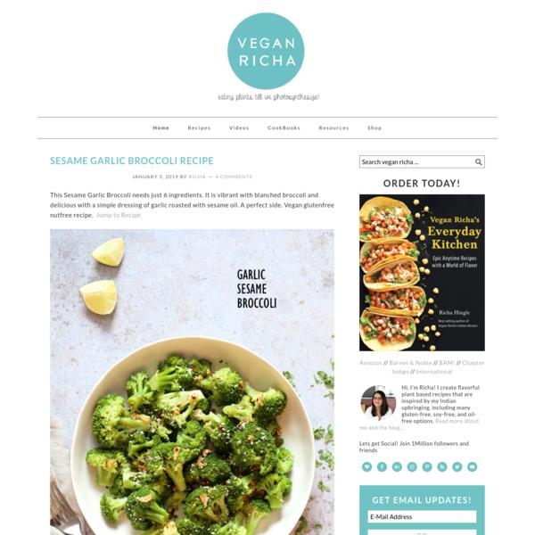 Vegan Richa   Vegan Recipes By Richa Hingle