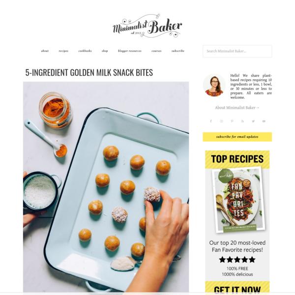 Minimalist Baker   Simple Food, Simply Delicious