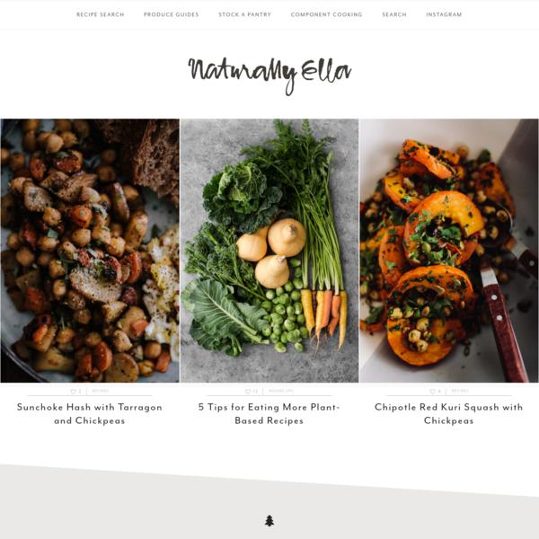 Naturally Ella   Seasonal, Pantry-Inspired Vegetarian Recipe Blog