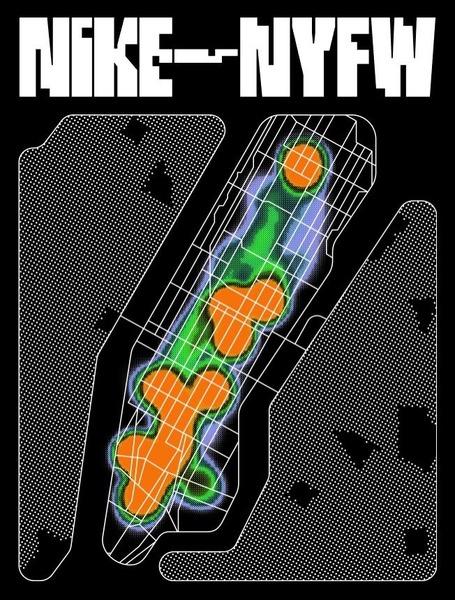 Kia Tasbihgou - Nike NYFW