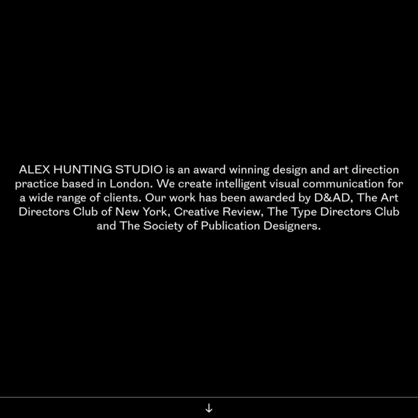 Alex Hunting Studio