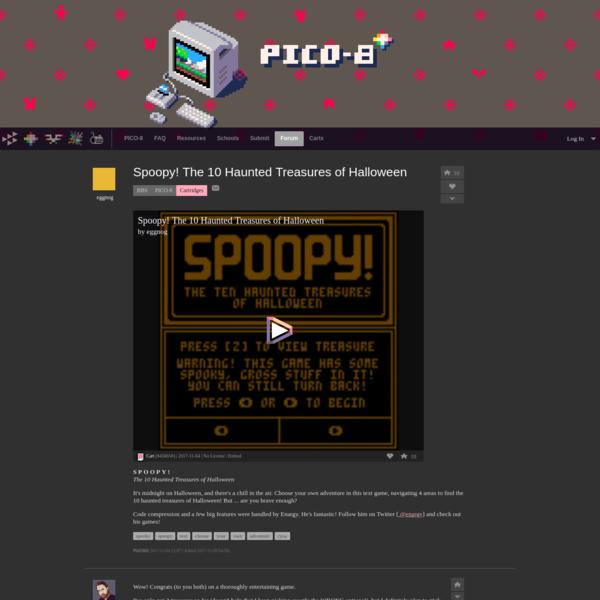Spoopy! The 10 Haunted Treasures of Halloween