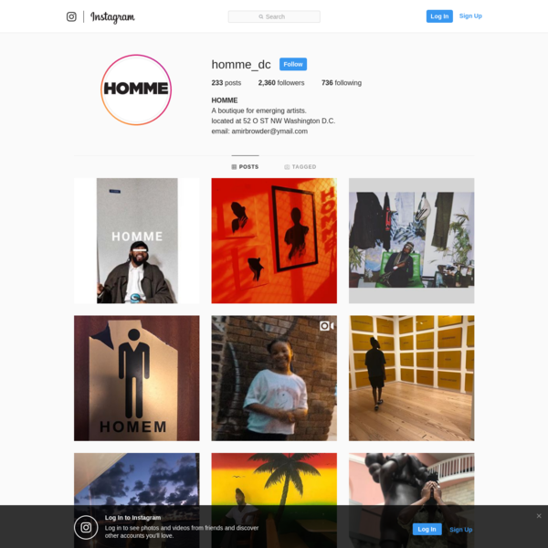 HOMME (@homme_dc) * Instagram photos and videos
