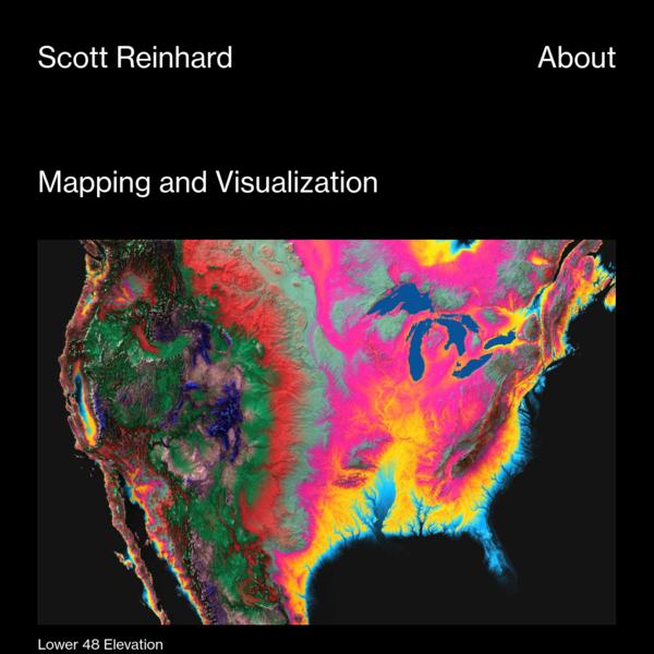 Mapping and Visualization - Scott Reinhard