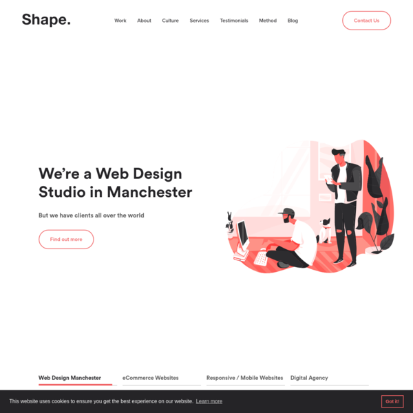 An award-winning Web Design Agency in Manchester who specialise in Website Design, Craft CMS Web Development, eCommerce and Organic SEO.