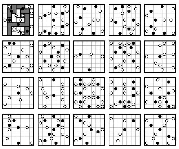 It's a font AND a puzzle  – http://erikdemaine.org/fonts/spiralgalaxies/?text=ABCDEFGHIJKLMNOPQRSTUVWXYZ0123456789&puzzle=1