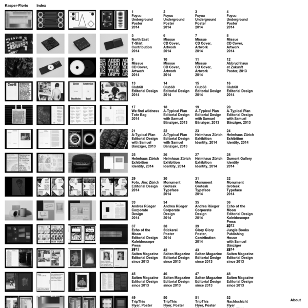 A brief selection of projects, commissions and collaborations of the past and present.