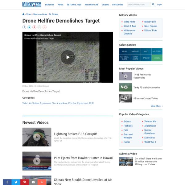 Are na / Drone Strike Footage