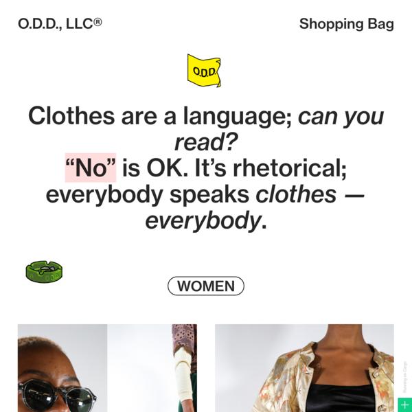 O.D.D., LLC - Cargo Example Site