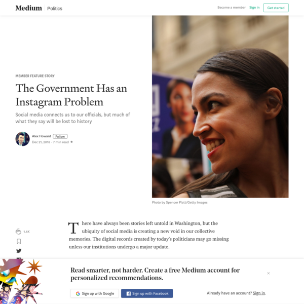 The Government Has an Instagram Problem - Member Feature Stories - Medium