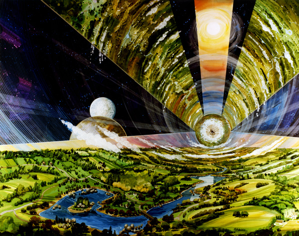 Cylindrical Colonies by Rick Guidice