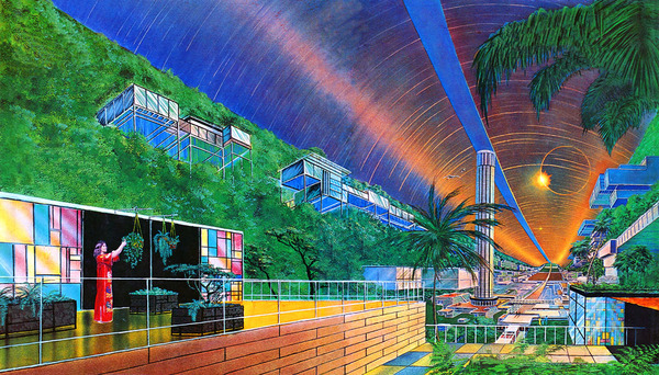 Colonies in Space by Don Dixon