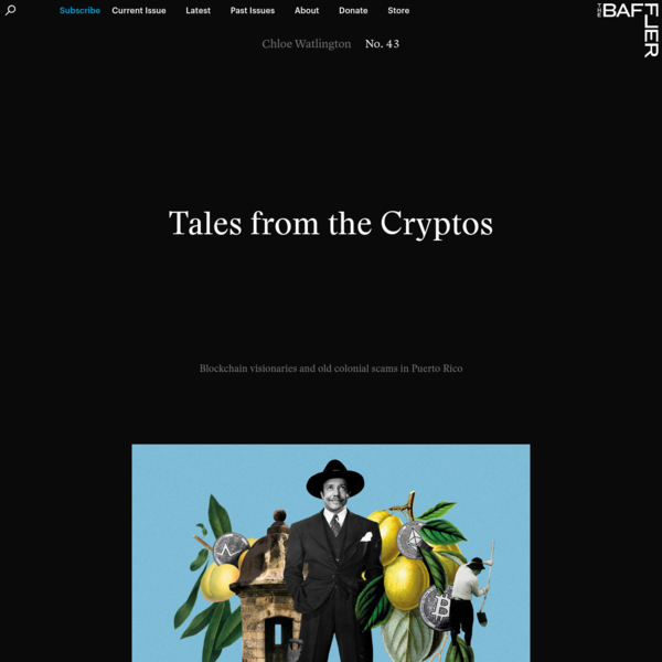 Tales from the Cryptos | Chloe Watlington