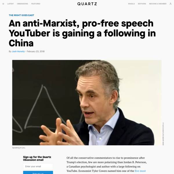 An anti-Marxist, pro-free speech YouTuber is gaining a following in China