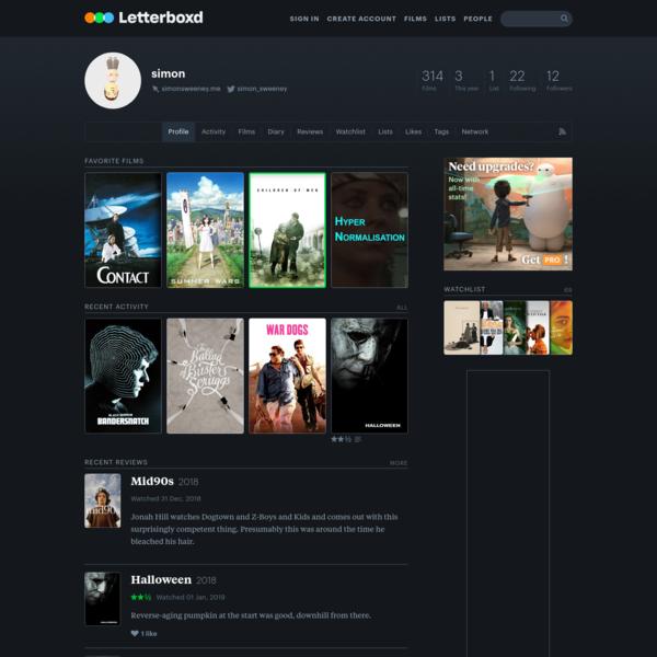 simon's profile