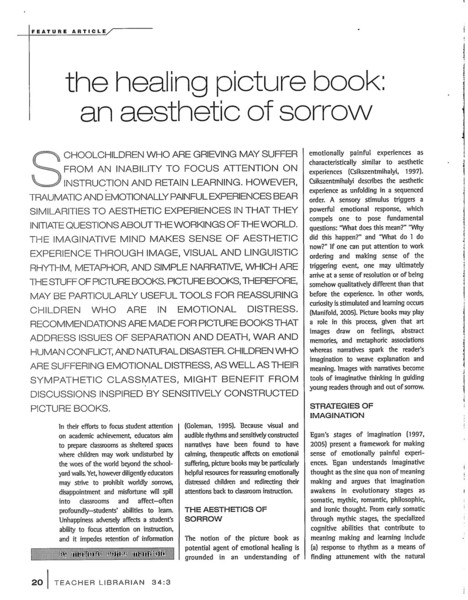 The Healing Picturebook