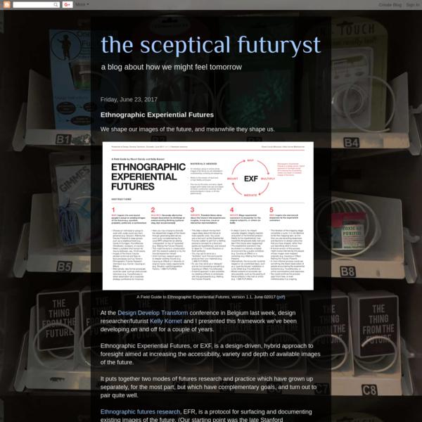 Ethnographic Experiential Futures