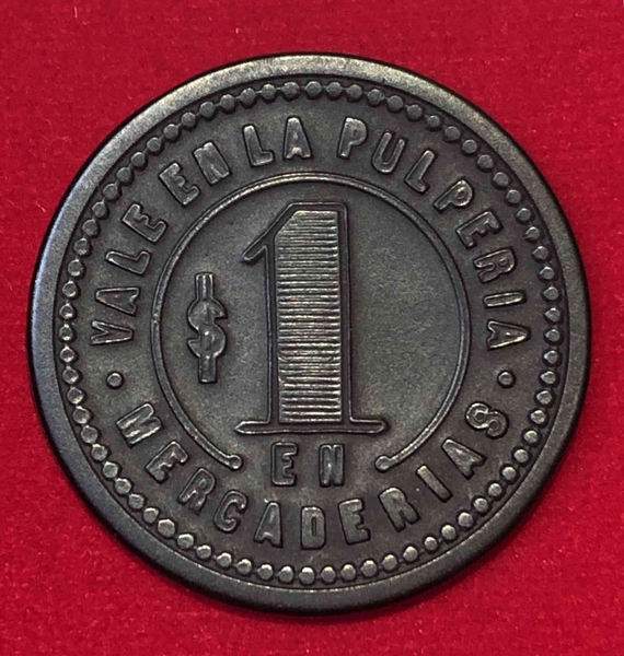 $1 Pulpería Salitrera Humberstone, Pozo Almonte. Región de Tarapacá, Chile
