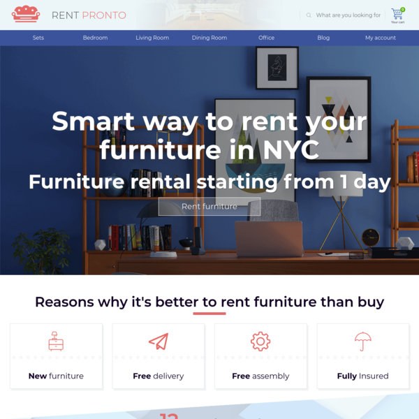 Rent Pronto | Furniture For Rent | Short & Long Term Furniture Leasing - Rent Pronto offers a great selection of IKEA furnit...