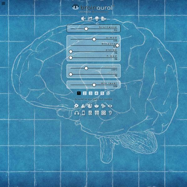 Ultimate Brainwaves * Binaural & Bilateral Beats & Isochronic Tones