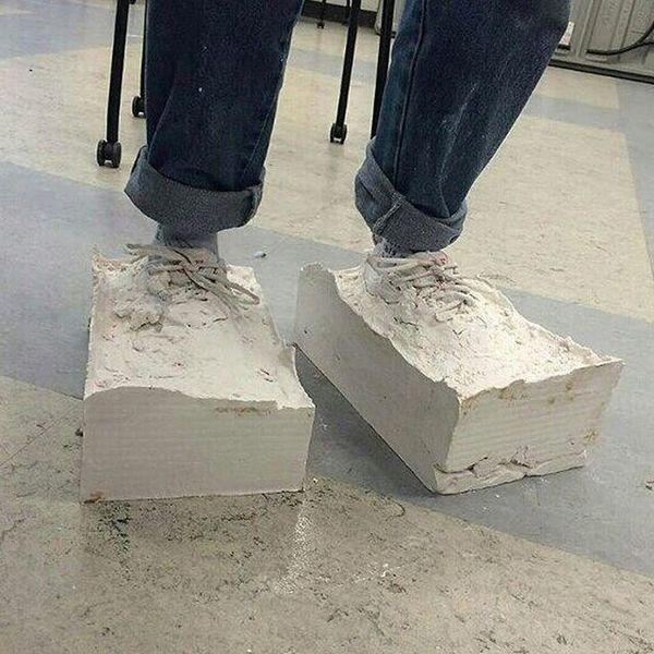 시멘트 슈즈 👟