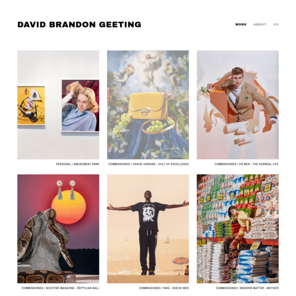 David Brandon Geeting